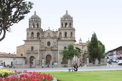 Convento de旧金山,卡哈马卡,秘鲁 库存图片