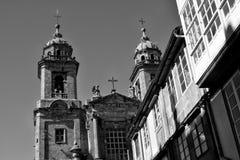 Convento de Σαν Φρανσίσκο, Σαντιάγο de Compostela Στοκ εικόνες με δικαίωμα ελεύθερης χρήσης