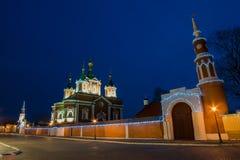 Convento de Brusensky, Rusia Imagenes de archivo
