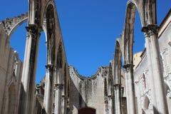 Convento de Carmen, Lisboa Fotos de archivo