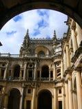 Convento de Christ em Portugal fotografia de stock royalty free