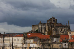 Convento de Cristo - монастырь заказа Христоса - Tomar Стоковые Фото