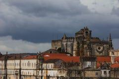 Convento DE Cristo - Klooster van de Orde van Christus - Tomar Stock Foto's