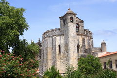 Convento de Cristo, Tomar. Convento de Cristo in Tomar, Portugal royalty free stock photos