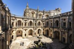 Convento de Cristo Tomar, Portugal imagen de archivo libre de regalías