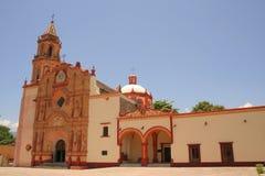 Convento de Jalpan de serra Foto de archivo
