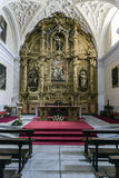 Convento de la Encarnacion is a convent of Carmelite nuns closin Stock Photos
