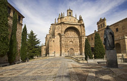 Convento de las Duenas σε Σαλαμάνκα, Ισπανία Στοκ εικόνα με δικαίωμα ελεύθερης χρήσης