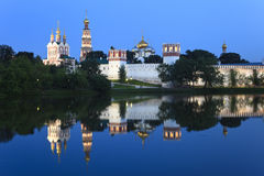 Convento de las nuevas doncellas en Moscú, Rusia. Fotografía de archivo libre de regalías