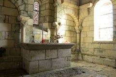 Convento de Merlande, interno imagens de stock