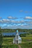 Convento de monjas de la intercesión de Tervenichesky Fotos de archivo