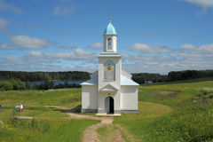 Convento de monjas de la intercesión de Tervenichesky Fotos de archivo libres de regalías