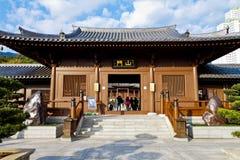 Convento de monjas de Lin de la ji, Hong-Kong Foto de archivo