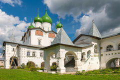 Convento de Nicholas Cathedral St Nicholas Vyazhischskogo imagem de stock royalty free