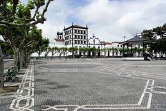 Convento de Nossa Senhora da Esperança, Ponta Delgada, Portugal. Convento de Nossa Senhora da Esperança at Ponta Delgada, Portugal stock image