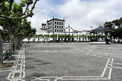 Convento de Nossa Senhora da Esperança, Ponta Delgada, Portugal Stock Image