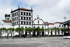 Convento de Nossa Senhora da Esperança, Ponta Delgada, Portugal Royalty Free Stock Image