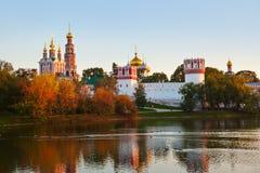 Convento de Novodevichiy en Moscú Rusia Imagenes de archivo