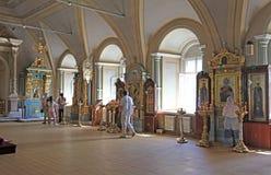 Convento de Novodevichiy, Moscú Fotografía de archivo