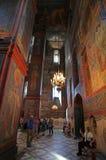 Convento de Novodevichiy, Moscú Imágenes de archivo libres de regalías