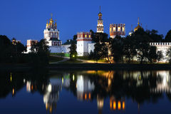 Convento de Novodevichy em Moscovo, Rússia Imagens de Stock Royalty Free