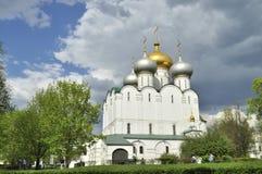 Convento de Novodevichy en Moscú Foto de archivo libre de regalías