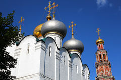 Convento de Novodevichy en Moscú, Rusia Imagenes de archivo