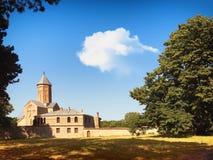 Convento de nuevo Shuamta fundado al principio XVI del siglo, Kakheti, Georgia fotografía de archivo