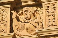 Convento de SAN Esteban σε Σαλαμάνκα - μεσαιωνικός ιππότης Στοκ εικόνες με δικαίωμα ελεύθερης χρήσης
