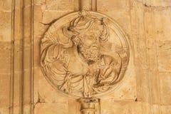Convento de San Esteban en Salamanca - Ezekiel foto de archivo libre de regalías
