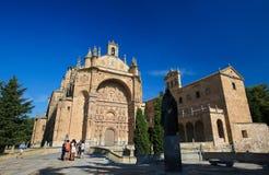 Convento de San Esteban in Salamanca Stock Photography