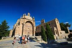 Convento de San Esteban in Salamanca Stock Image