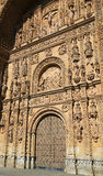 Convento de San Esteban in Salamanca. Plateresque facade of the 17th Century Convento de San Esteban, a Dominican monastery in Salamanca, Spain Stock Photos