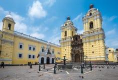 Convento de San Francisco ou Saint Francis Monastery, Lima, Peru imagens de stock royalty free