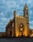 Convento de San Gabriel em Cholula, Puebla, México imagem de stock
