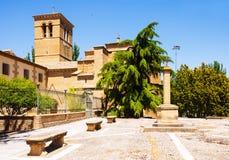 Convento de San Miguel in Huesca Stock Photo