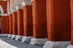 Convento de Santa Catalina, Arequipa, Perú fotografía de archivo