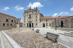 Convento de Santa Teresa em Avila, Espanha fotografia de stock royalty free