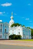 Convento de Smolny de la resurrección Imagenes de archivo
