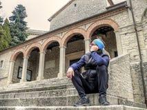 Convento dei Cappuccini - San Marino Stock Photos