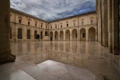 Convento Dei Teatini, Lecce, Italien royaltyfria foton