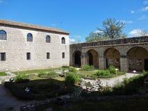 Convento dell'abbazia di Goleto fotografia stock
