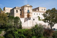Convento della Scala, Sicily,Italy Royalty Free Stock Images