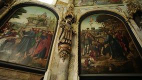 Convento di Cristo Charola video d archivio