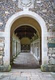 Convento di guerra all'istituto universitario di Winchester, Winchester, Regno Unito Immagini Stock Libere da Diritti