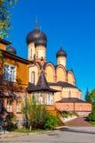 Convento di Kuremae Dormition L'Estonia fotografia stock