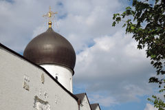 Convento di Marfo-Mariinsky di pietà a Mosca Immagine Stock