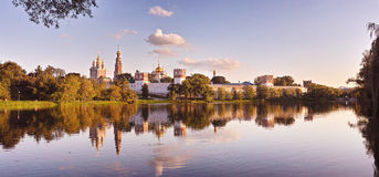 Convento di Novodevichy Fotografia Stock