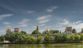 Convento di Novodevichy a Mosca Fotografie Stock Libere da Diritti