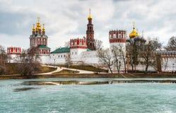 Convento di Novodevichy a Mosca immagine stock